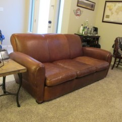 Manhattan Sofa Pottery Barn Bunk Beds Uk Where Can I Buy The Leather Couch That Is Leonard And ...