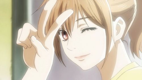 Image result for winking anime face
