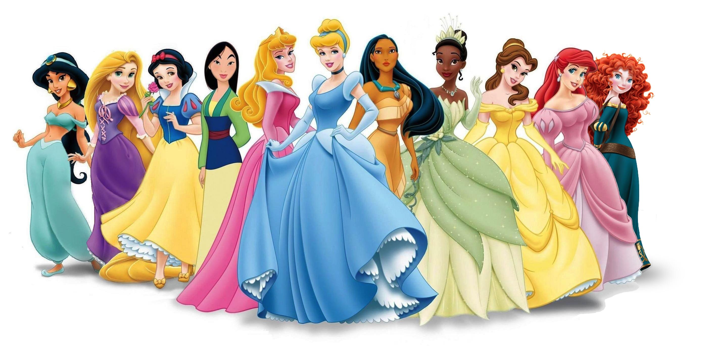 MacytheStrange's Best Disney Princess Body List - Disney Princess - Fanpop