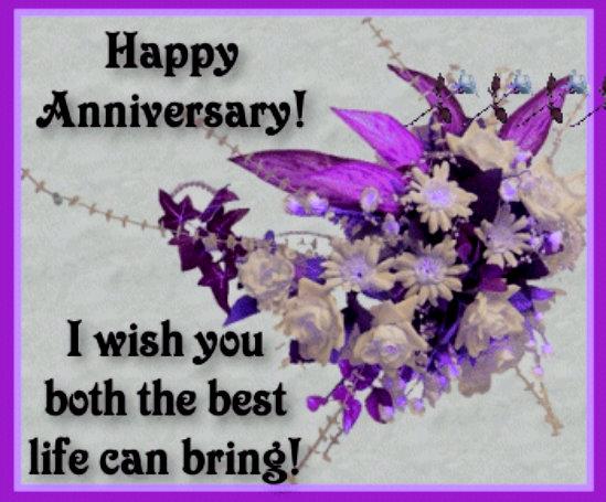 wishing you both a