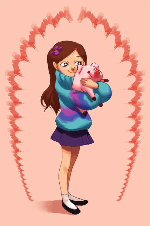 Gravity Falls Mabel And Waddles Wallpaper Gravity Falls Images Mabel Hd Wallpaper And Background