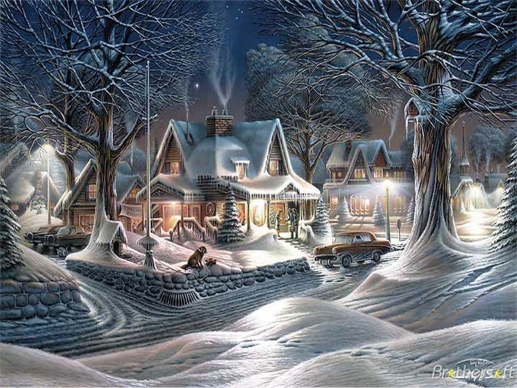 Free Animated Desktop Wallpaper Like Snow Falling On Background Vintage Christmas Christmas Wallpaper 32887774 Fanpop