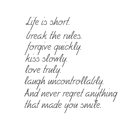 Quotes images Life is short... wallpaper and background