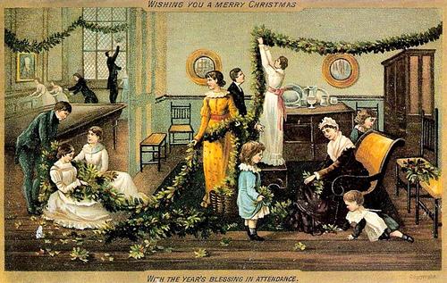Victorian chrismas