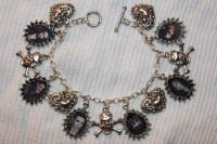 BVB bracelet and earrings - Black Veil Brides Fan Art ...