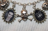 BVB charm bracelet and earrings - Andy Sixx Fan Art ...