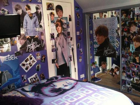 Image result for justin bieber room