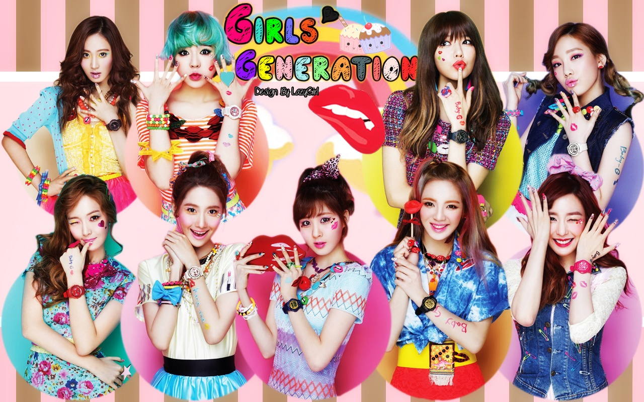 Girl Generation Hd Wallpaper 2015 Girls Generation Kiss Me Baby G By Casio Girls