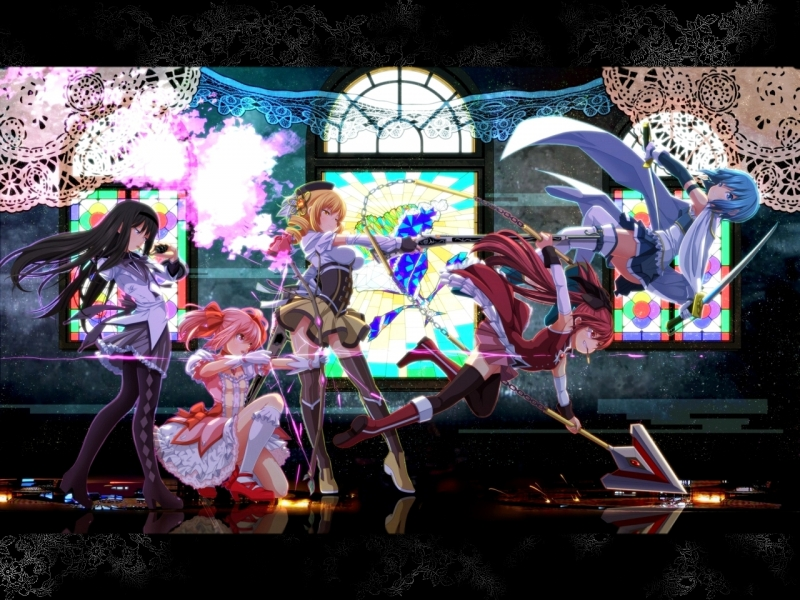 Cool Girl Saiyan Wallpaper Puella Magi Madoka Magica Anime Wallpaper 33554722