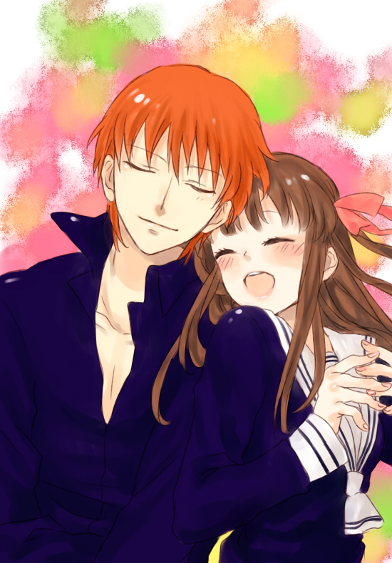 Cartoon Couple Wallpaper Hd Year Of The Cat Fan Club Images Kyo And Tohru Hd Wallpaper