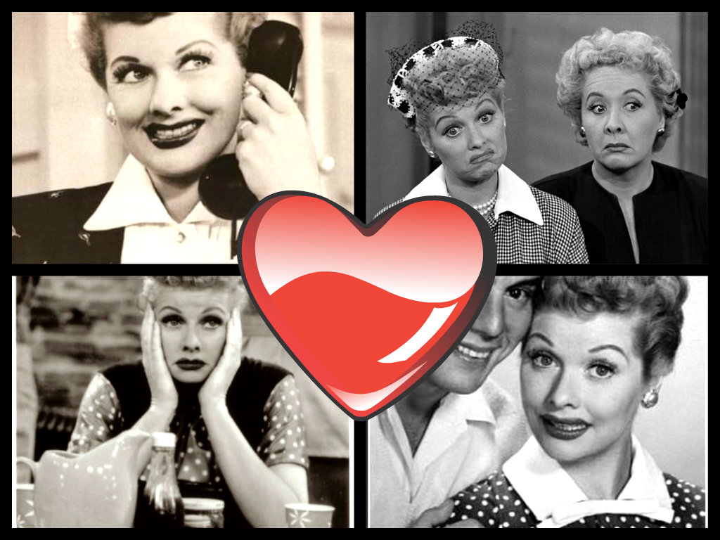 Lucille Ball in I love Lucy (1951 - 1957)