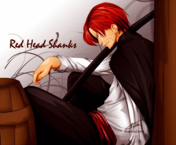 shanks one piece
