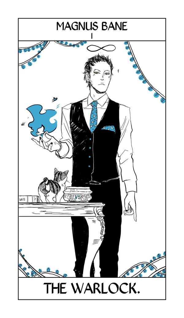 Cassandra Jean's Tarot Cards: Magnus Bane {The Warlock
