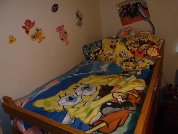 Spongebob Bed - Squarepants Fan Art 34190567