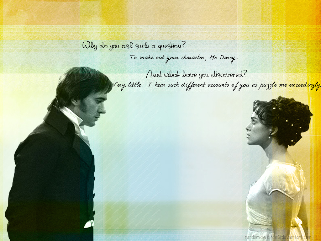Pride And Prejudice Quotes Wallpaper Illustration Of Your Character V2 Pride And Prejudice