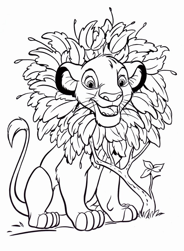 disney coloring book pages # 10