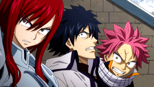 Fairy Tail Images Erza Gray Natsu Enraged Hd Wallpaper And