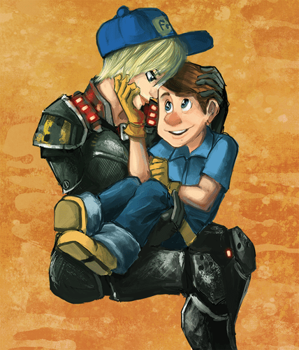 Fix it felix and sergeant calhoun fanfiction