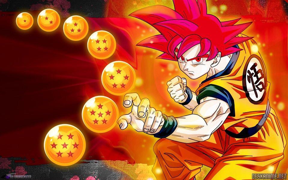 Goku ssj god   Dragon Ball Z Wallpaper (34858992)   Fanpop