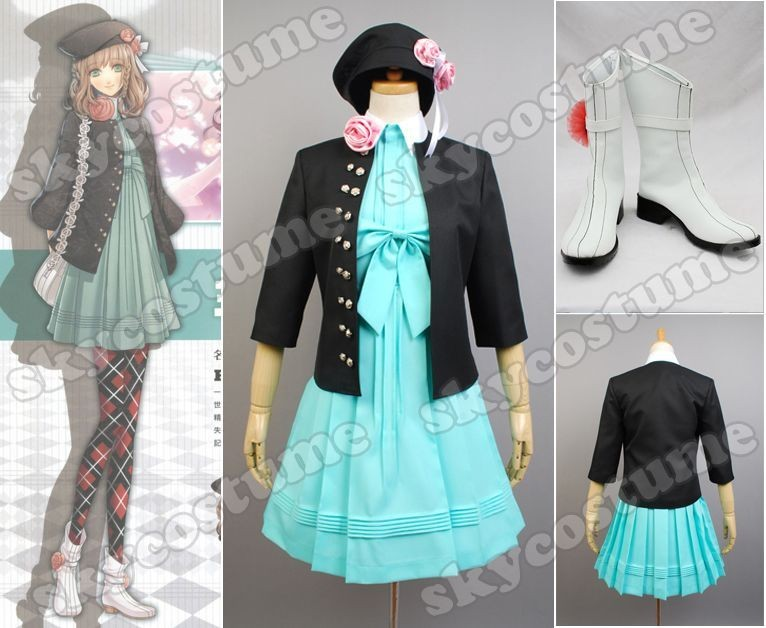 Amnesia Anime Wallpaper Amnesia Heroine Cosplay Costume Shoes Full Outfit From