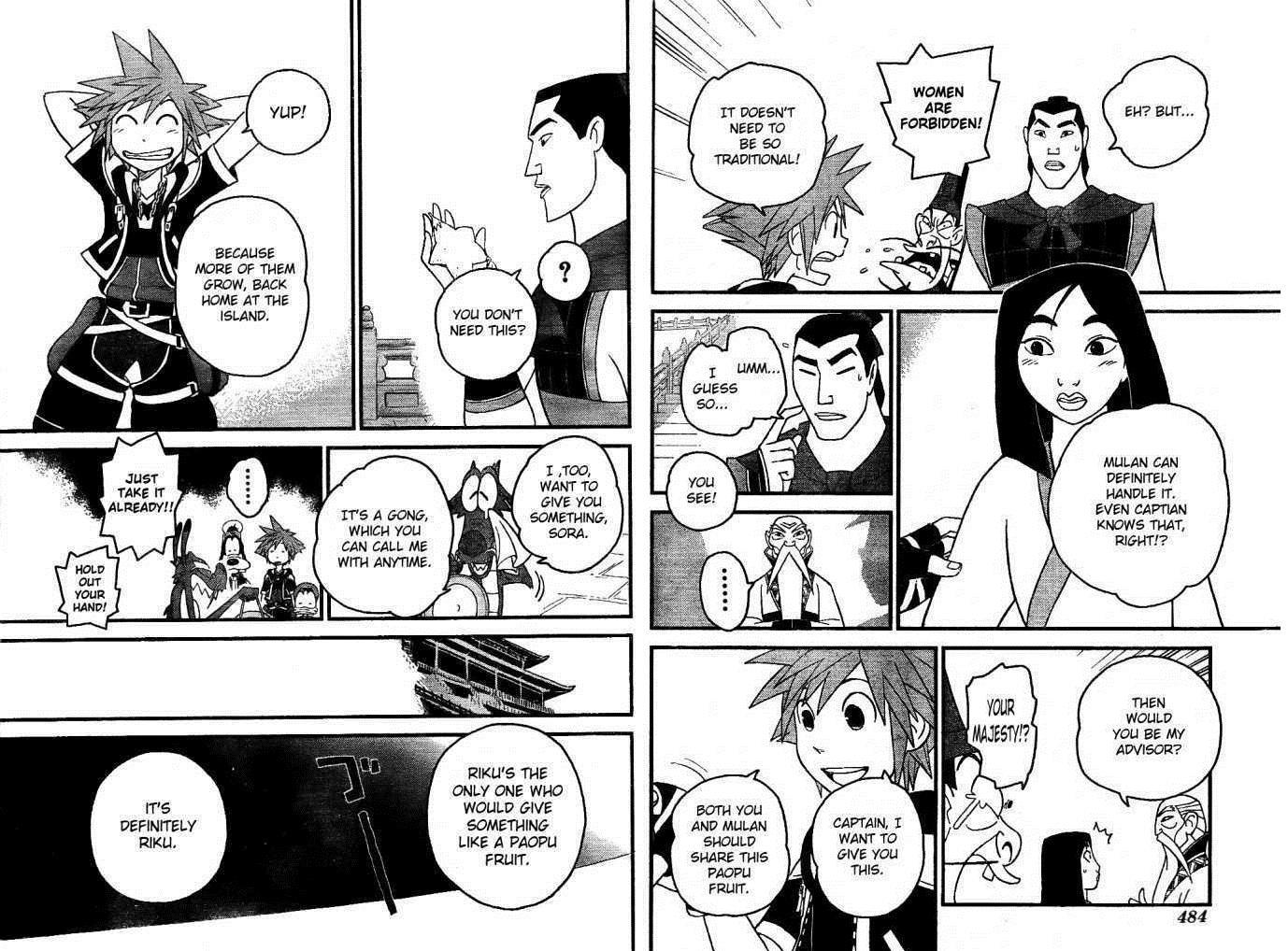 Mulan Images Mulan Kingdom Hearts 2 Cartoon Hd Wallpaper