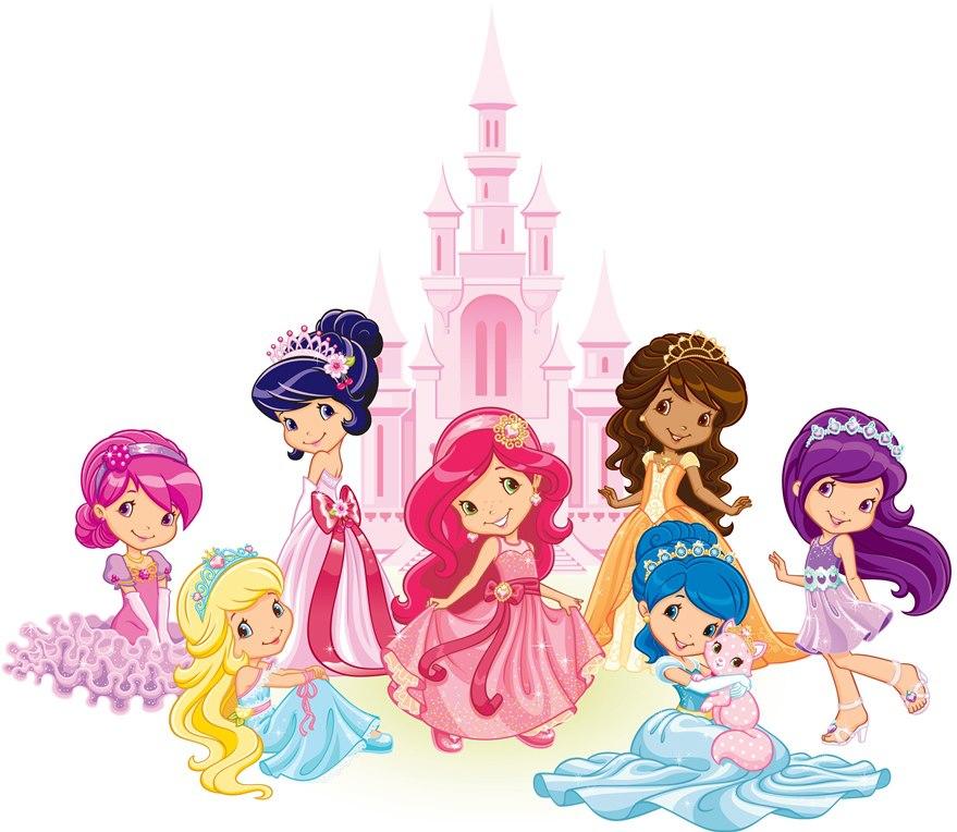 stroberi princesses stroberi shortcake