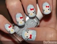 cute Hello Kitty nail art - Hello Kitty Photo (35421390 ...