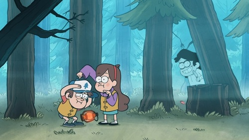 Screen Shot Wallpaper Gravity Falls Look Who S In The Background Creepypasta Photo