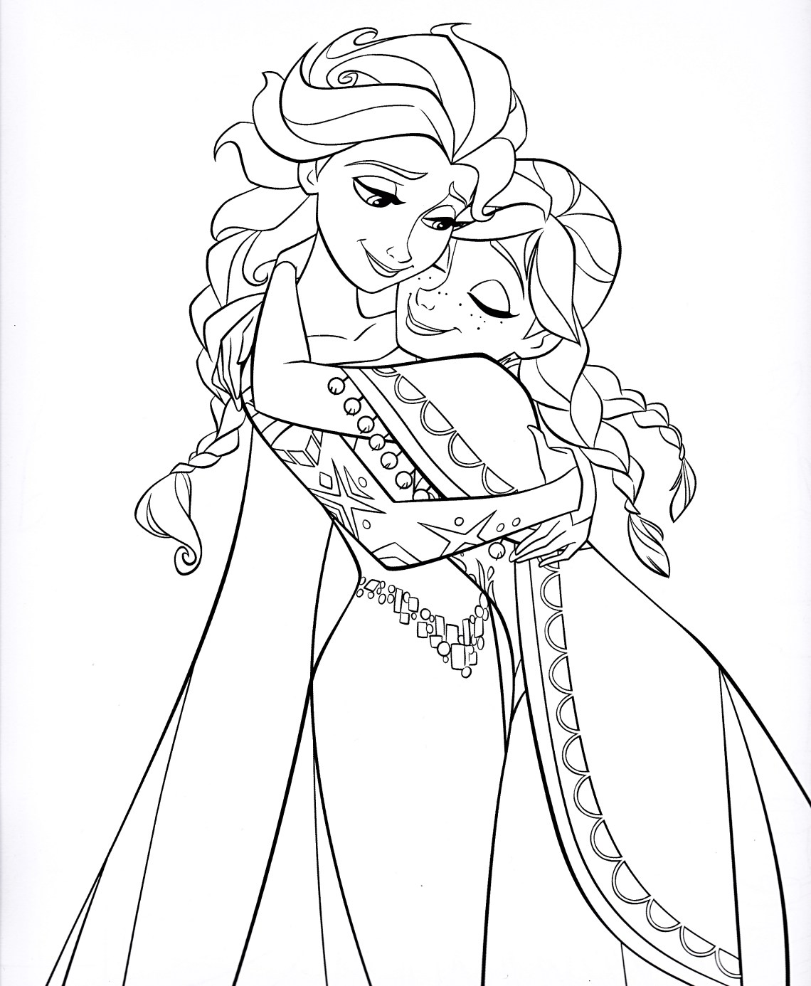 Free printable coloring pages disney frozen 2016 | disney frozen coloring pages free printable