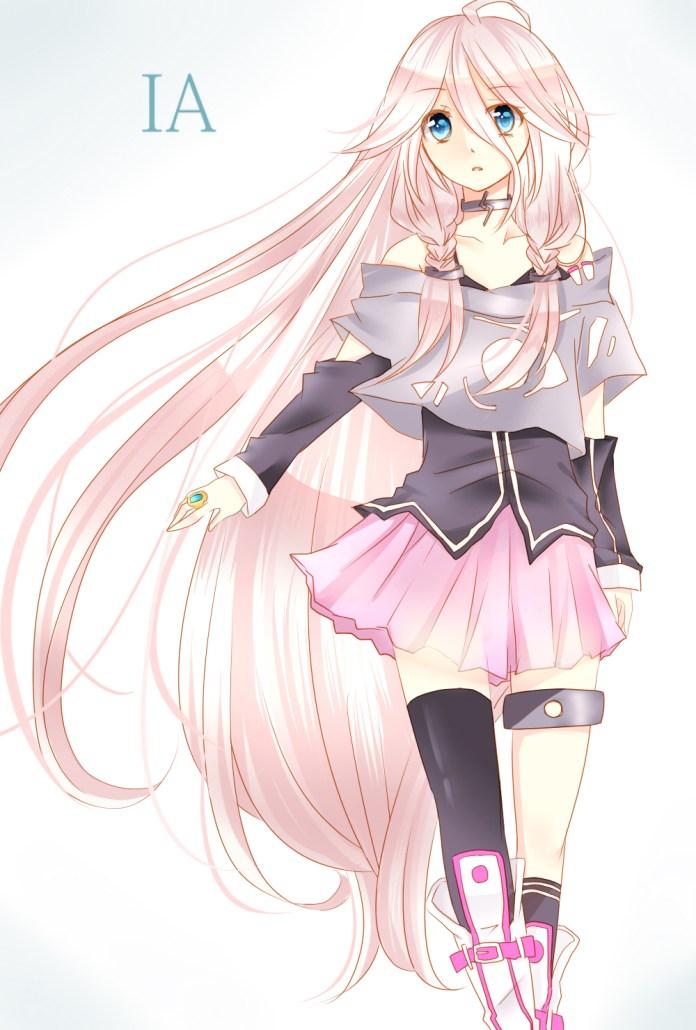 IA Vocaloid ♦ Minecraft Skin