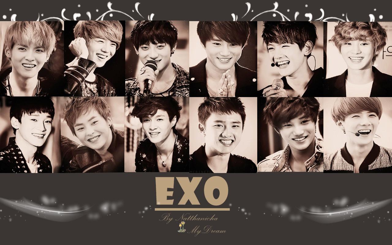 EXO  EXO Wallpaper 36006235  Fanpop
