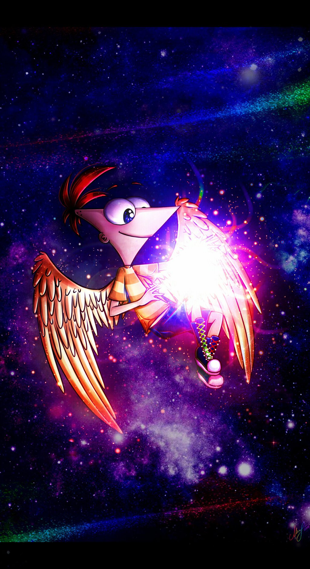 Hd Wallpapers For Pc With Quotes Phineas And Isabella Images Space Dreamer Hd Wallpaper And