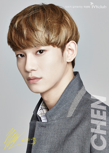 EXOM gambar Chen IVY CLUB HD wallpaper and background