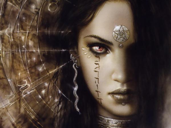 Beautiful Gothic Fantasy Artwork Of Luis Royo