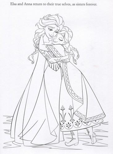 Frozen images Official Frozen Illustrations (Coloring
