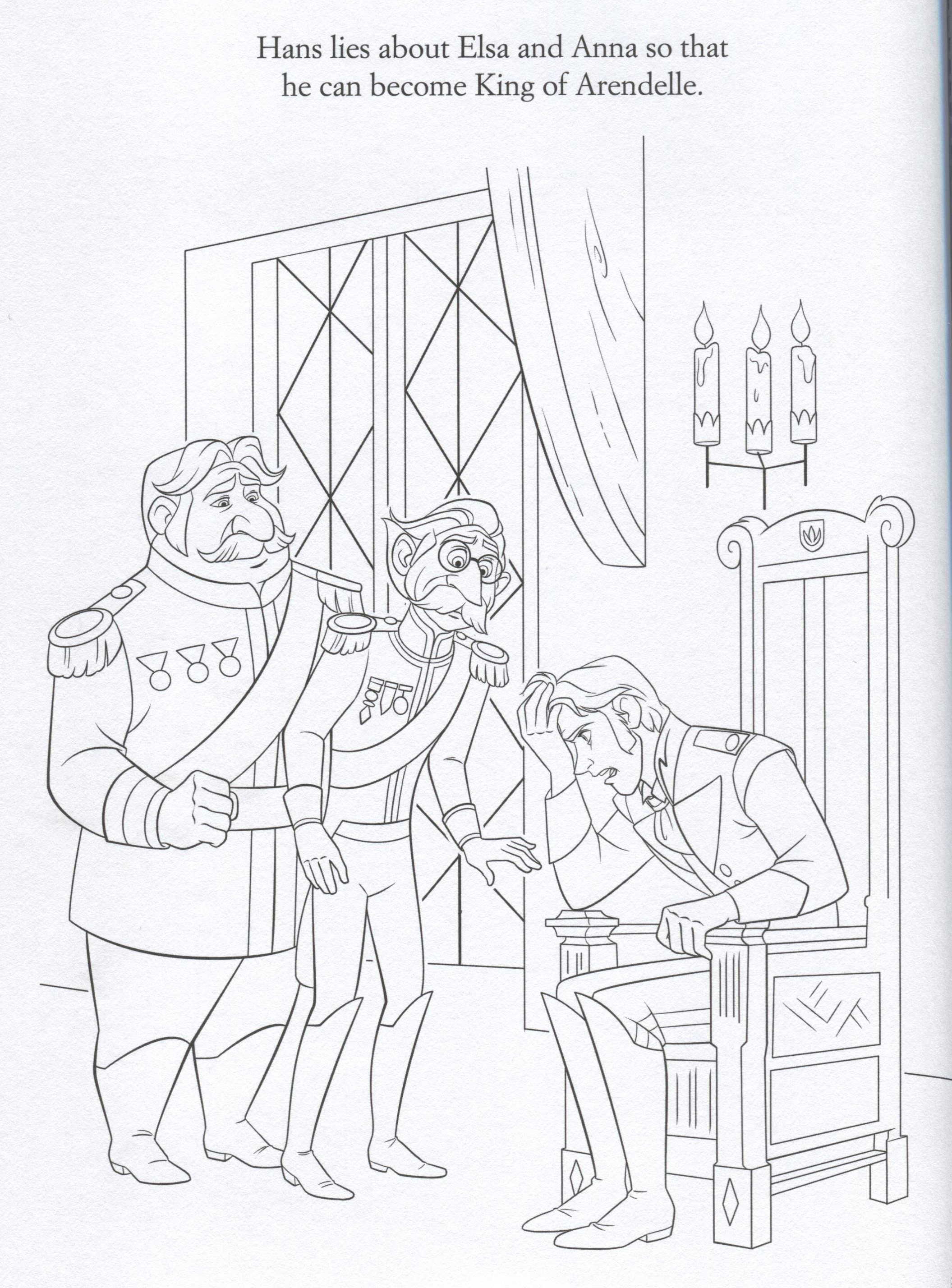 Fixer Upper Frozen Coloring Page Coloring Pages