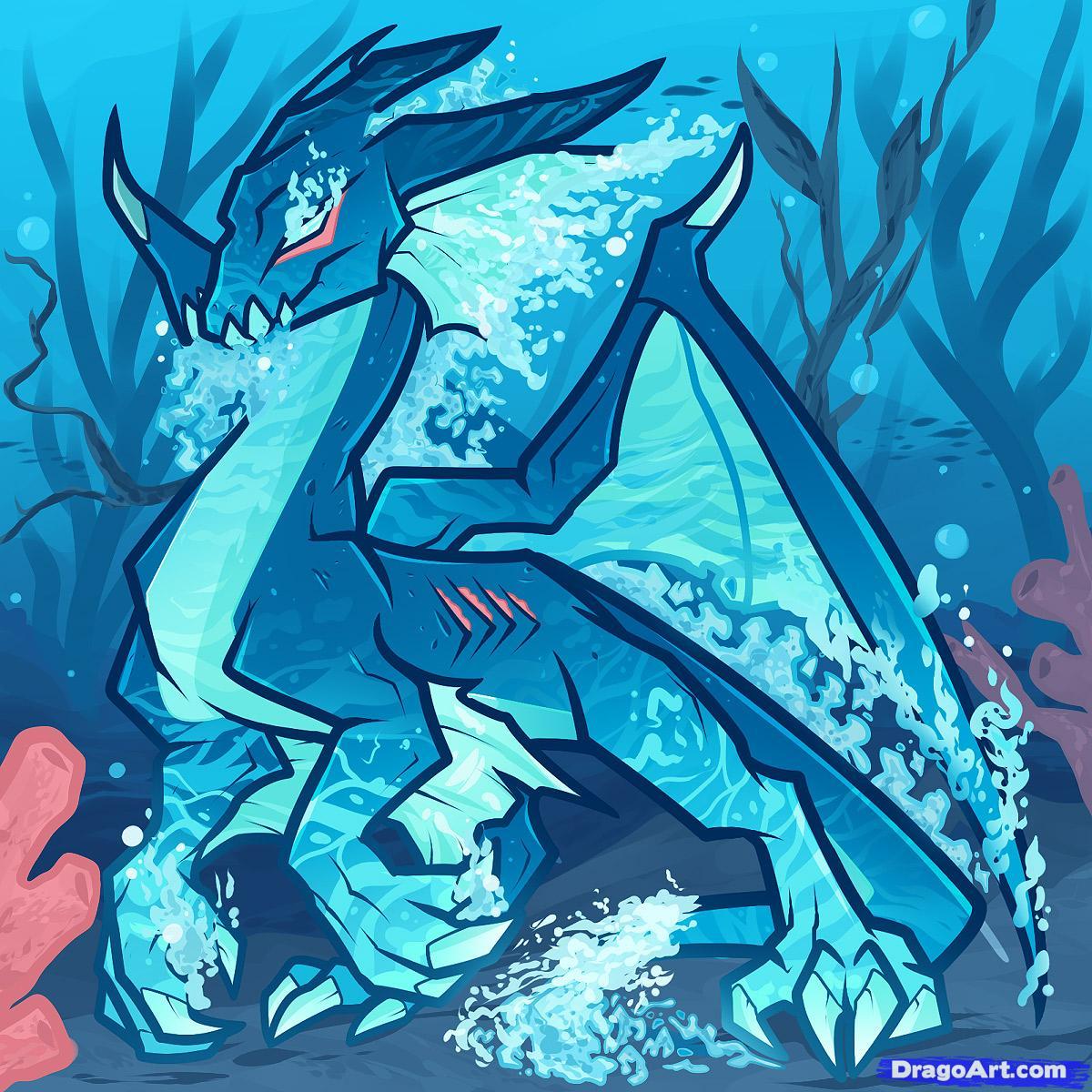 hydro the water dragon