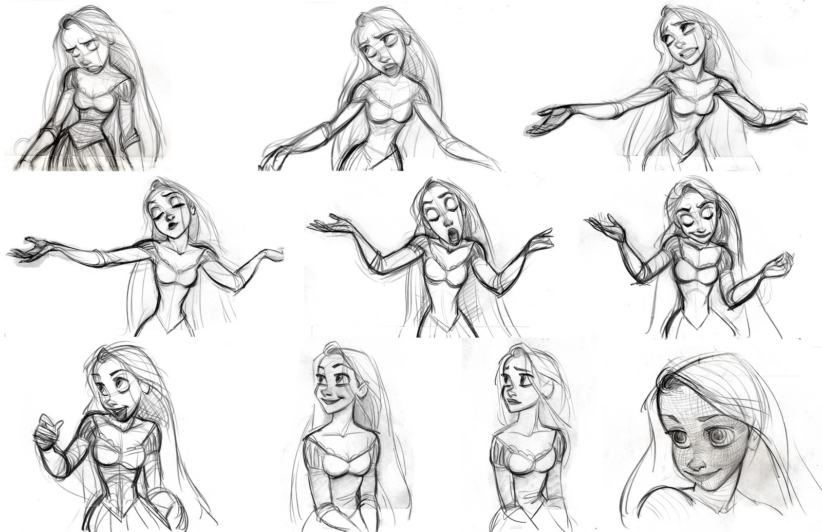 Disney Sketches images Tangled Sketch HD wallpaper and