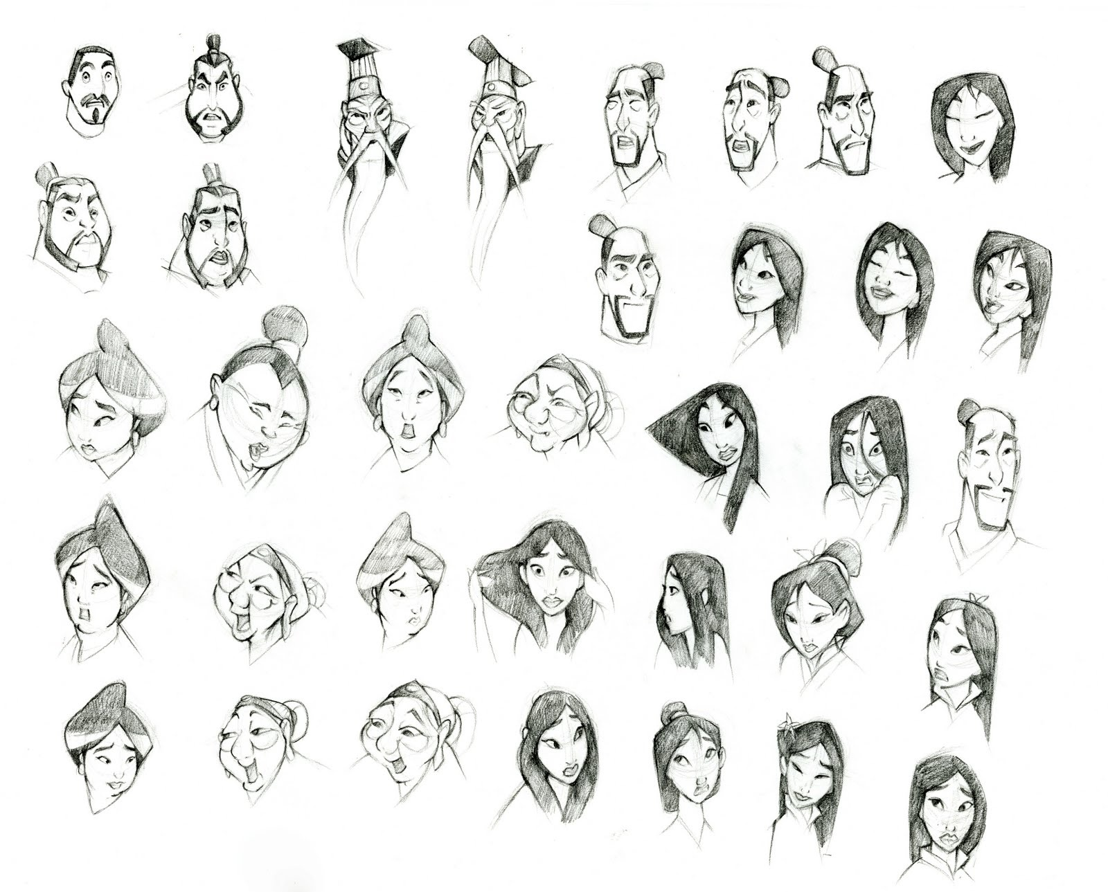 1000+ images about Illustration references: faces and