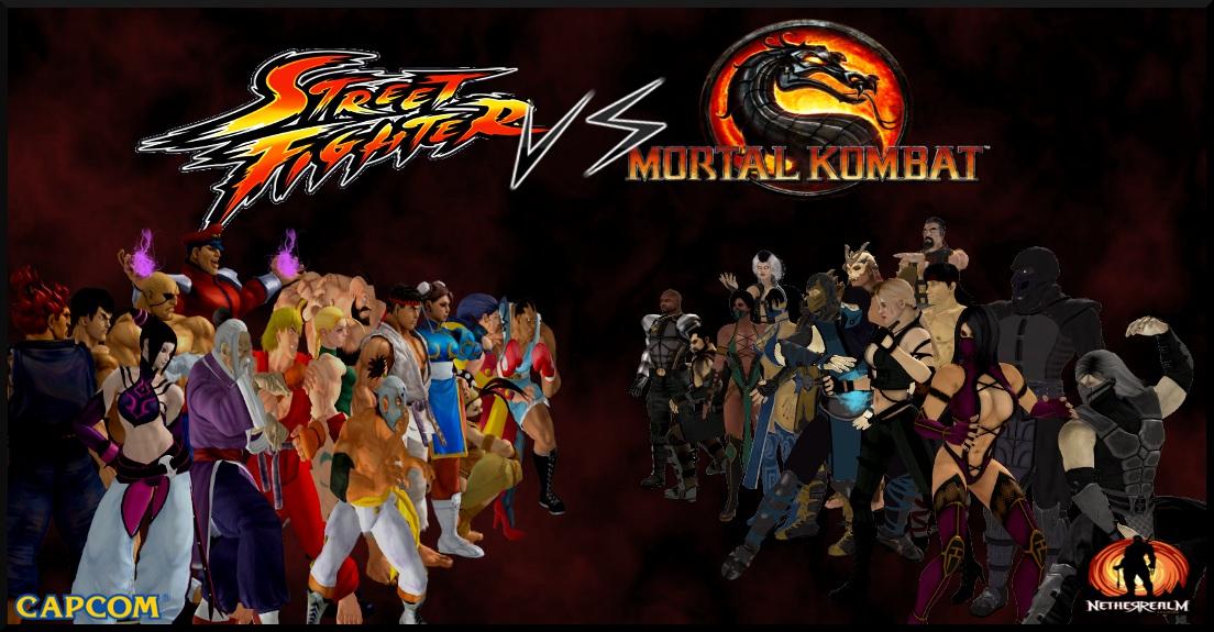 Umvc3 Wallpaper Girls Rua Fighter Vs Mortal Kombat 2 Rua Fighter Vs Mortal