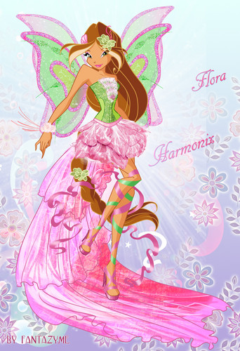 Winx Club Flora images Harmonix HD wallpaper and
