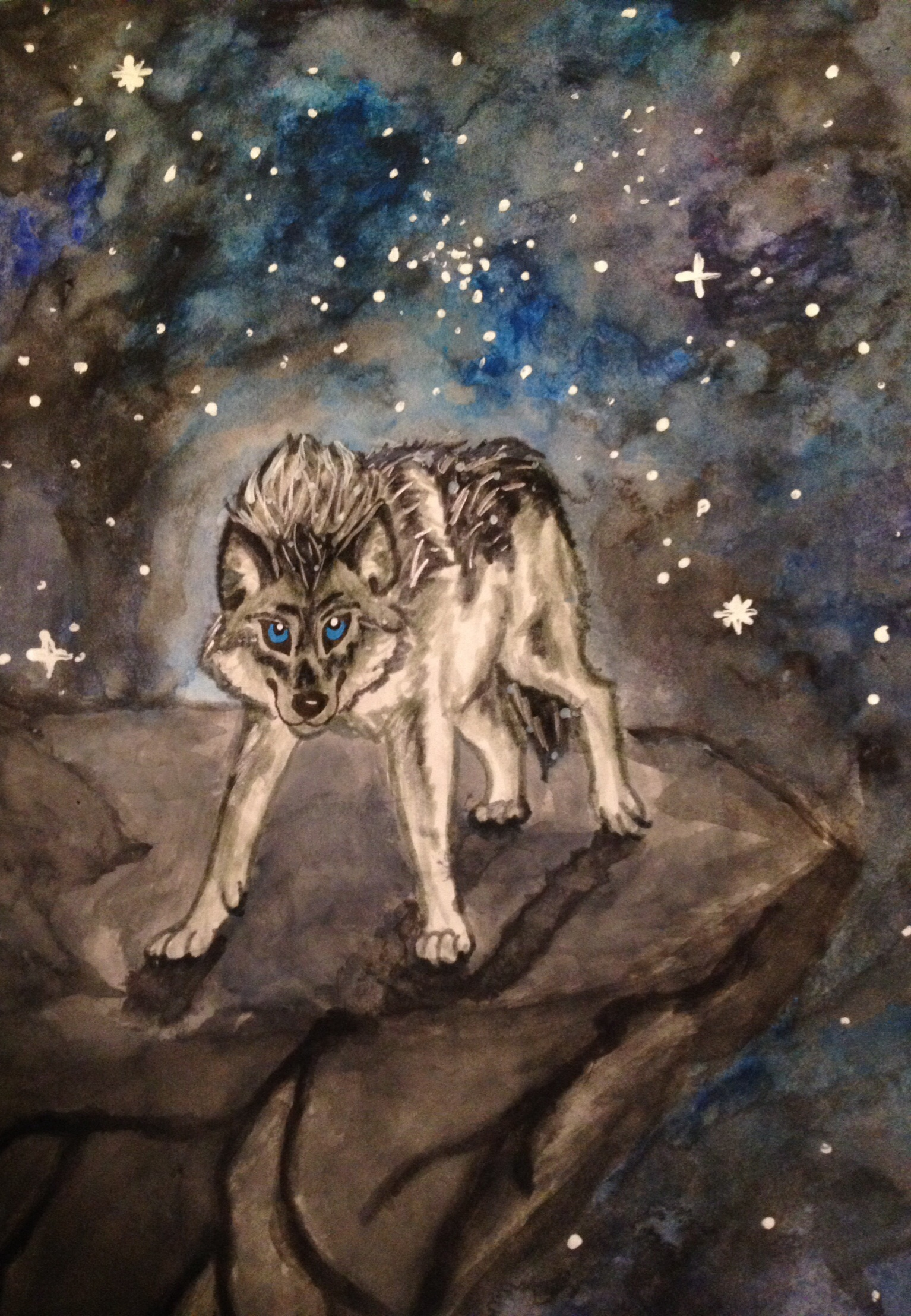 space is cool wolves