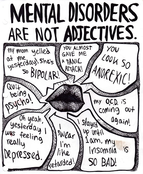 Mental Health Awareness images Mental Disorders Are NOT