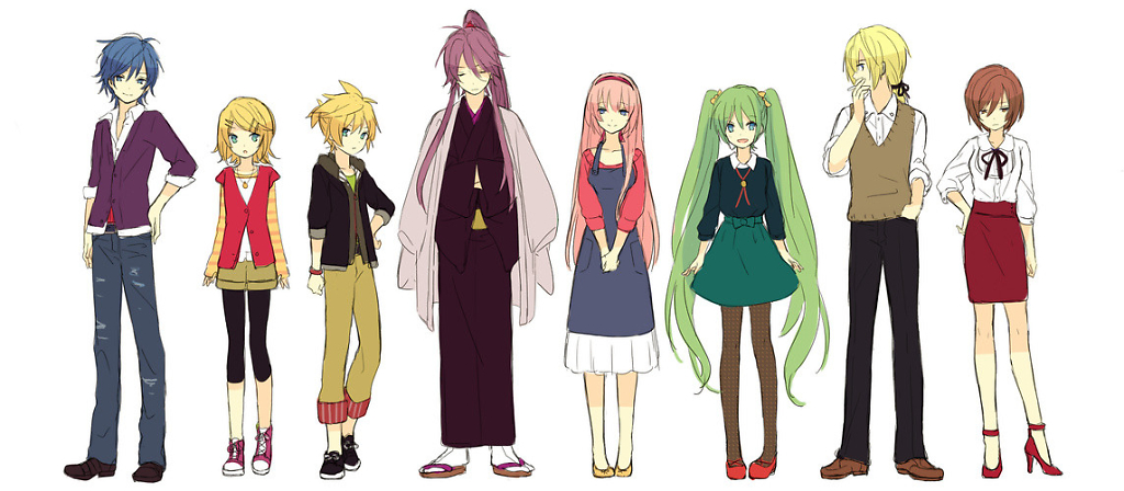 vocaloid characters nico nico