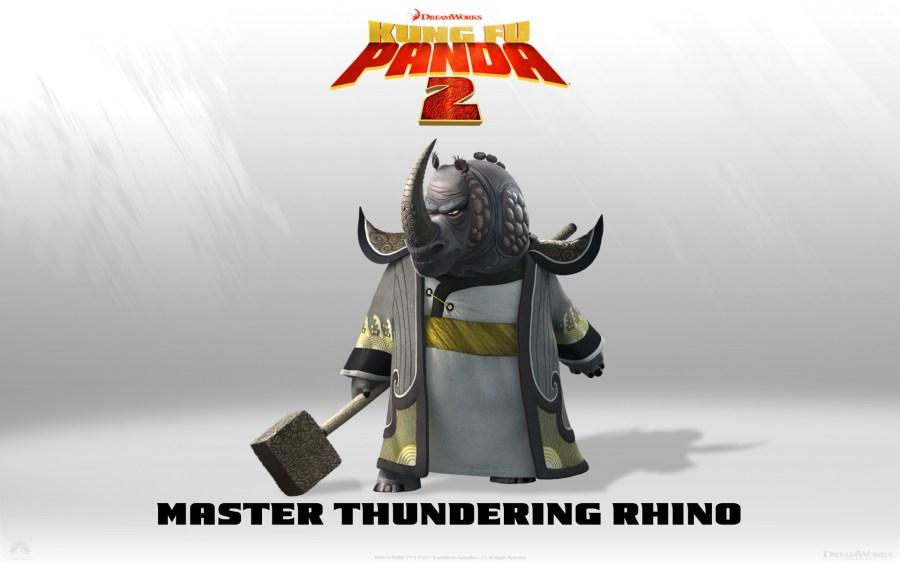 The kung fu panda images Master thundering rino HD wallpaper and background photos
