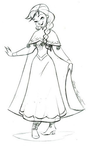 Princess Anna images Anna sketch wallpaper and background