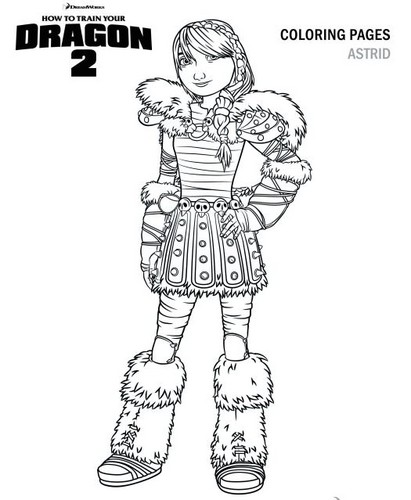 Astrid Hofferson images Astrid HTTYD 2 Coloring Page