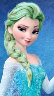 elsa - light green hair color