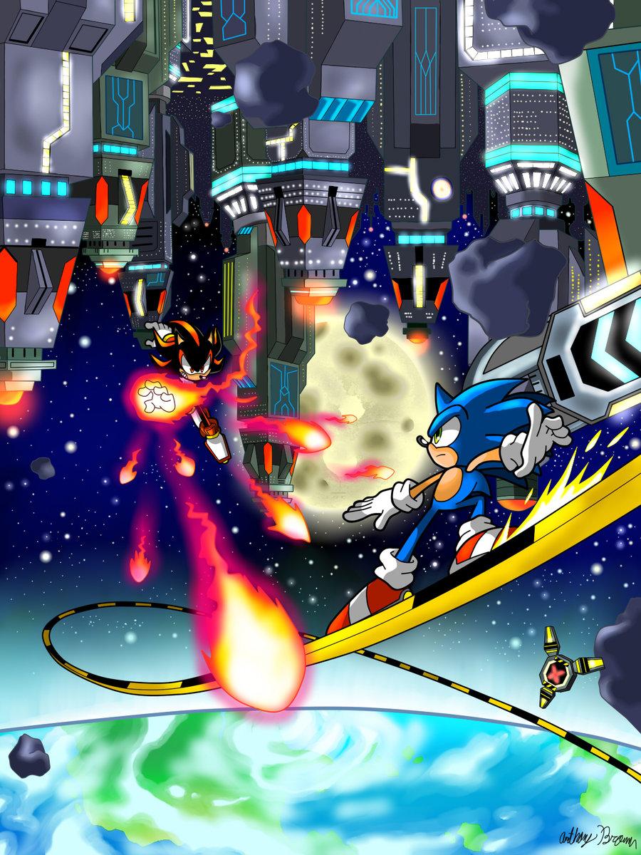 Final Rush  Sonic Adventure 2 Battle Fan Art 37151088