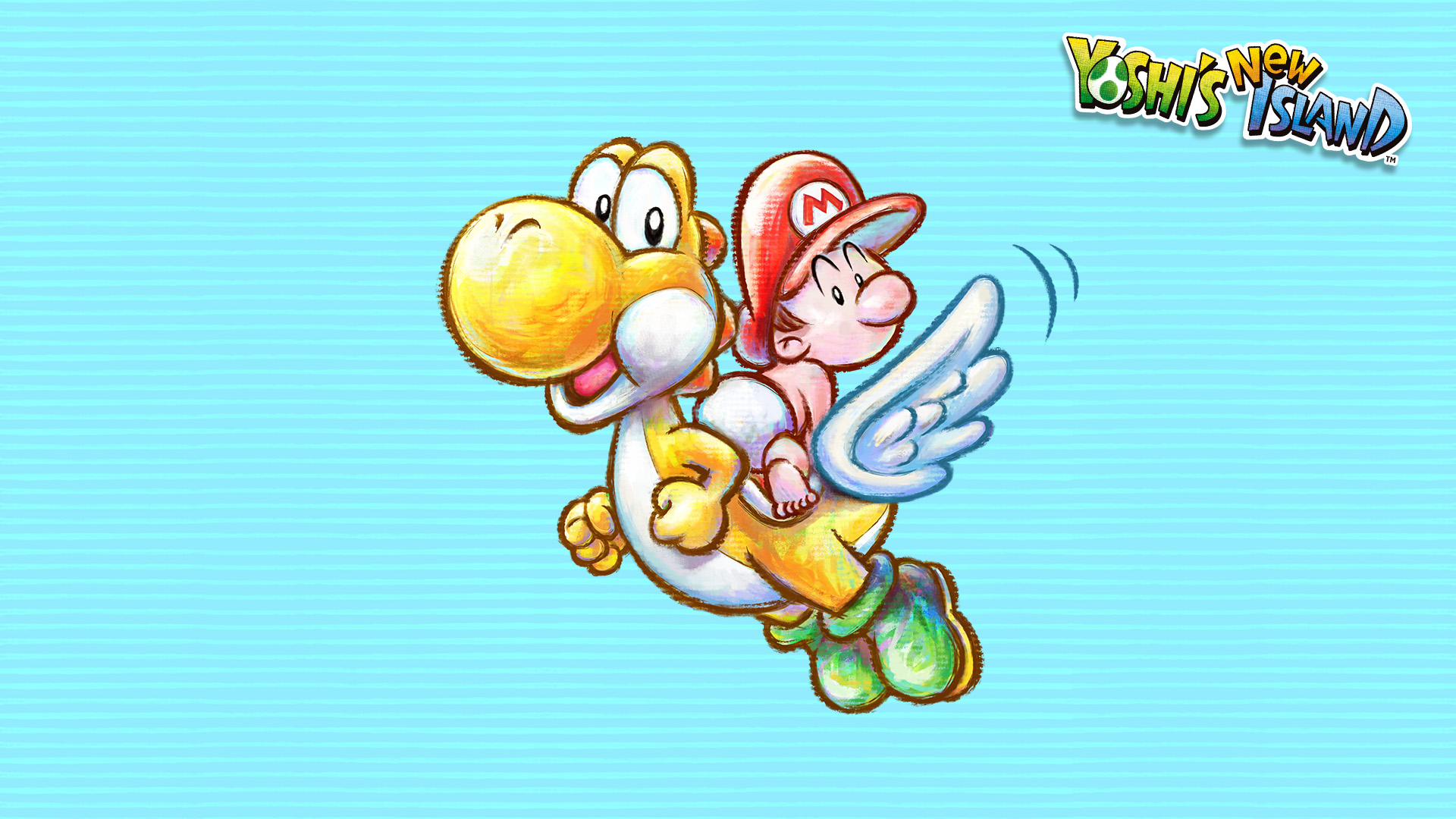 Yoshi S Island Ds Backgrounds